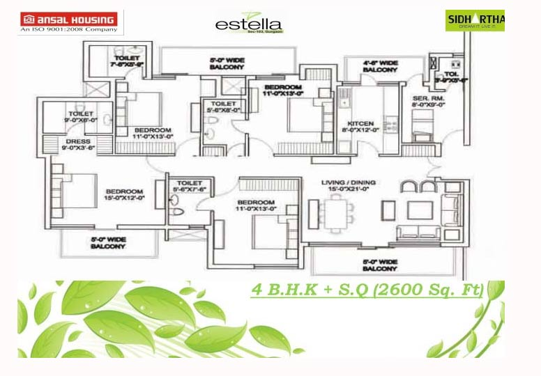 Ansal estella estella resale dwarka expressway for 4000 sq ft house cost